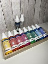 Textilspray verschiedene Farben
