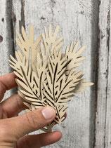 Tannenzweige Holz