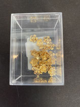 Blume aus Metall gold