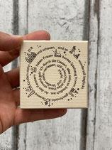 Stempel Spirale mit Weihnachtlichen Worten