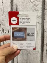 Label zum Eingießen bestens für Seife geeignet verschiedene