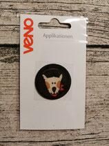 Applikation Hund braun