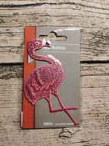 Applikation Flamingo rosa