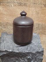 Zuckerdose 0,2 Liter mit Deckel aus Ton