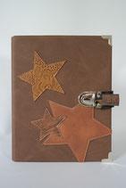 43. Kalender Fein Braun/ Sterne
