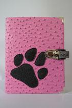 10. Kalender Pink/ Glitzer Pfote