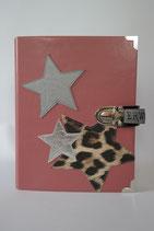 14. Kalender Dunkelaltrose/ Leopard Sterne