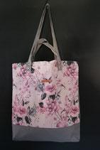29. Freizeittasche Rosa Rose Canvas/ grau