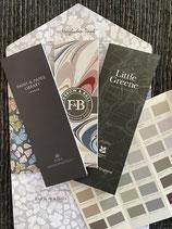 Farbkarten Farrow & Ball, Little Greene und Paint & Paper Library.