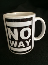No Way - LTD Mug - white