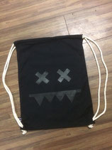 EATBRAIN - Gym Bag - Logo - black