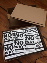 No Way - Sticker_v2 WHT
