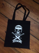 Therapy Sessions Tote Bag - Logo - black