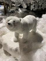 Eisbär stehend Plüsch 18x25cm