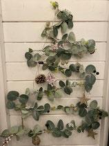 Beleuchteter LED Drahtbaum für Fenster zum Hängen 60cm Nature's Gift