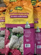 Frux Hortensienerde für rote und weiße Sorten 15L