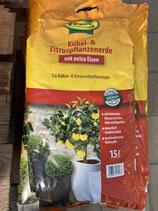 Frux Kübel- und Zitruspflanzenerde 15L
