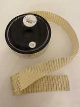 Dekoband Gold 2m lang 2,5cm breit