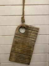Servier- und Schneidebrett Holz 35x20cm