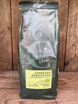 Classics Verde  Espresso Barista Bio Kaffeebohnen 500g