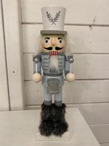 Nussknacker mit Hut und Bart h 25cm