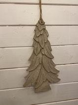 Anhänger Baum Holz ca. 30cm