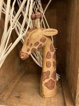 Giraffenkopf Holz 9x20x44cm