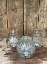3er Set Vase weiss 10cm