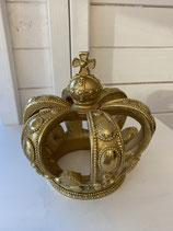 Krone gold h 17cm  dia 11cm