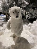 Eisbär stehend aufrecht Plüsch 26cm