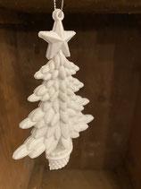 Glitzerbaum weiß 15cm