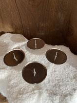 4 Kerzenhalter silber dia 6cm