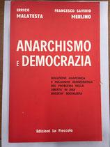ANARCHISMO E DEMOCRAZIA.