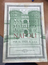 ANNUARIO STATISTICO DEL COMUNE DI NAPOLI PER IL 1931.