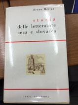 STORIA DELLA LETTERATURA CECA E SLOVACCA.