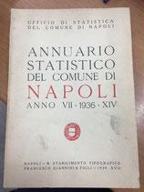 ANNUARIO STATISTICO DEL COMUNE DI NAPOLI PER IL 1936.