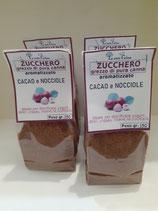 Zucchero aromatizzato al CACAO E NOCCIOLE