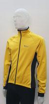 AITOS Sport Herren Winter Rad-Jacke gelb-schwarz softshell