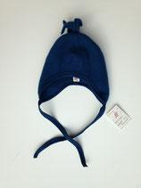 Mütze aus Bio-Wolle blau von Engel Naturtextilien