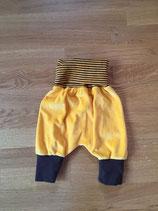 Babystrampelhosen gelb