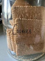 Sticker voor koekjespot