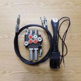 Einhebelsteuergerät/Frondladersteuergerät im Set