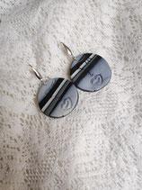 Ohrringe mit Anhängern aus Fimo 48