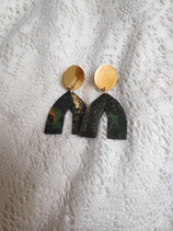 Ohrringe mit Anhängern aus Fimo 12