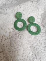 Ohrringe mit Anhängern aus Fimo 47