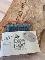 Bee Food Wraps VEGAN - Starter Set MIX IT (GOTS)