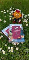 """Maskottchen Wandi mit Wanderbuch """"161 Erlebnis."""""""