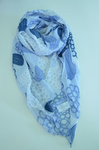 Schal aus Italien - bunt-