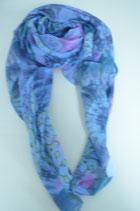 Schal aus Italien - bunt -