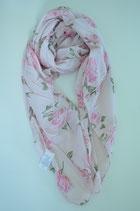 Schal aus Italien mit floralem Muster